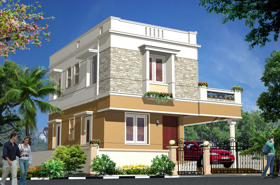 Compound Wall Designs India Front Indian House Front Window Design